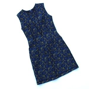 Cynthia Rowley Abstract Neoprene Body Con Dress